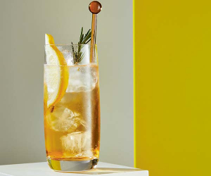 Port and tonic; photograph by Sarah Hogan