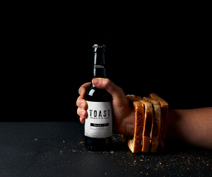 TOAST pale ale; photograph by Camilla Wordie