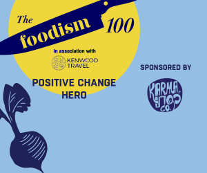 The Foodism 100: Positive Change Hero 2019
