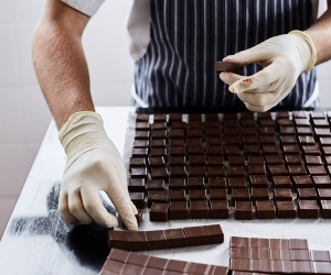 Rococo chocolates; photograph by S Mcleod