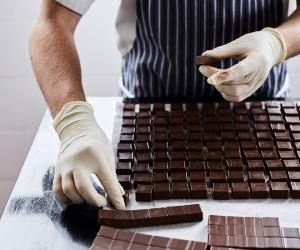 Rococo chocolates; photograph by S Mcleod