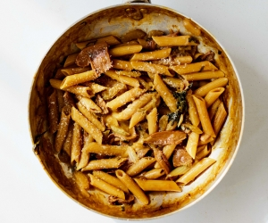 Joe Trivelli's porcini penne; photography by Matt Russell