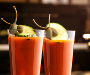 Grey Goose bloody mary