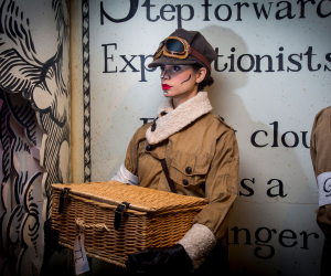Best Immersive Dining Experiences in London: Gingerline's Grand Expedition