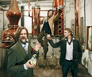 The founders of Sipsmith Gin