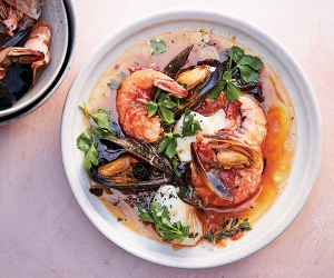 Make Alison Roman's quick weeknight fish stew with olives