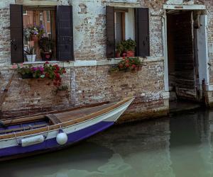 Venice's famous fish market: a Venetian canal