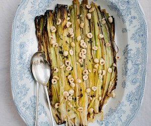 Make Alexandra Dudley's baked leeks with butter