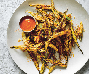Make Dishoom's okra fries; photography by Haarala Hamilton