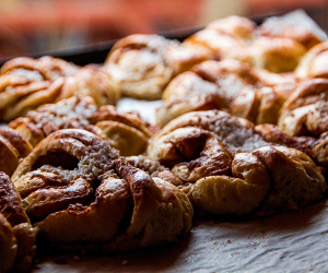 Cinnamon Buns; photography by Shutterstock / Little Adventures