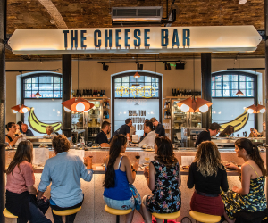 Paxton & Whitfield takeover The Cheese Bar