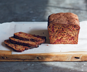 Different types of bread: Rye beet loaf from The Natural Baker