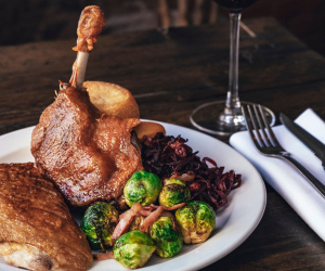 London Christmas Menus: Festive menu at Monsieur le Duck