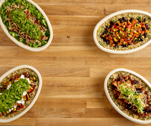 Chipotle lifestyle bowls