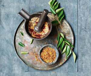 Gunpowder's spice mix; Peter Cassidy