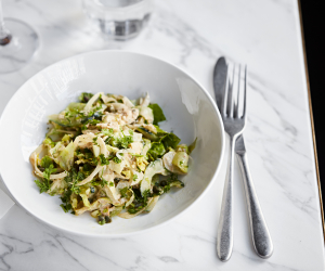 Rondo, Holborn | crab and sauerfennel salad | Steven Joyce