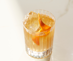 Non-alcoholic cocktail recipe | ZEO's old fashioned
