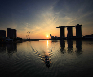 Singapore's Marina Bay   Elizabeth Haigh's guide to Singapore