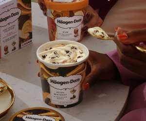 Supermarket ice creams: Haagen Dazs